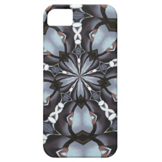 Shades of Blue Kaleidoscope iPhone 5 Covers