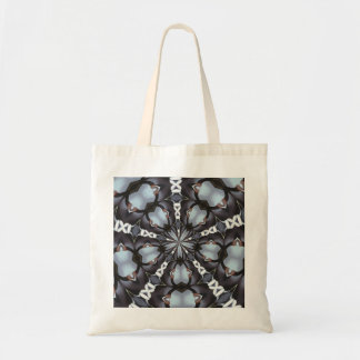 Shades of Blue Kaleidoscope Tote Bag