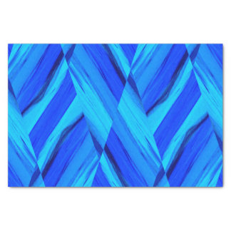 shades of blue tissue paper