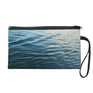 Shades of Blue Water Abstract Nature Photography Wristlet