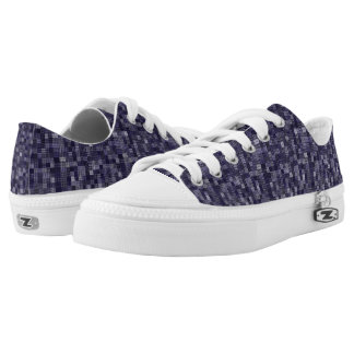 Shades Of Blueberry Low-Top Sneakers