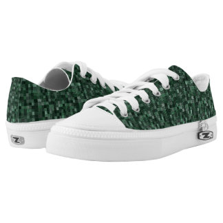 Shades Of British Racing Green Low-Top Sneakers