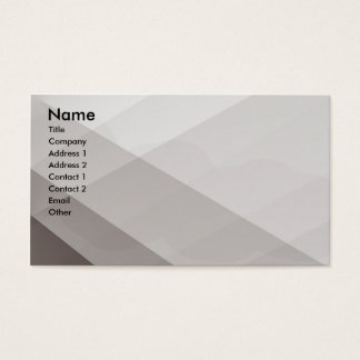 Shades of brown business card