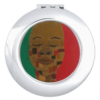 """""""Shades of Brown""""  Compact Mirror"""