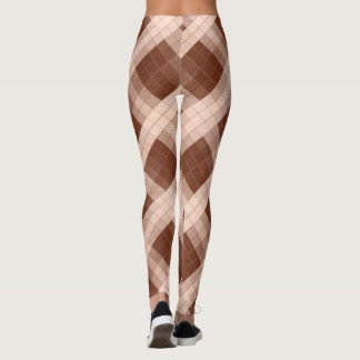 Shades-of Brown Model#1-A Modern Leggings