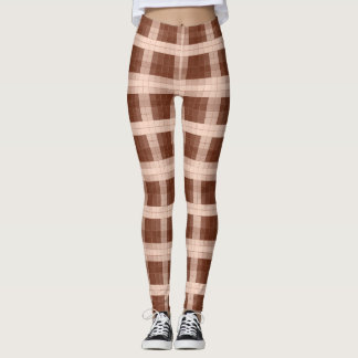 Shades-of Brown Model#2-B Modern Leggings