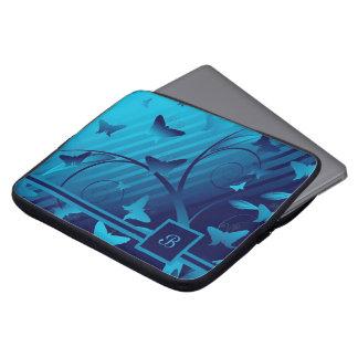 Shades of Butterflies Laptop Sleeves