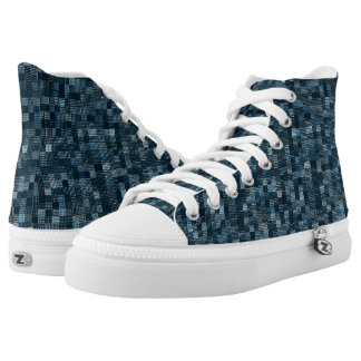 Shades Of Cerulean High Tops