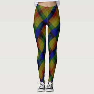 Shades of Colors Model#2-B Modern Leggings