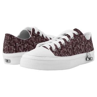 Shades Of Deep Pale Rose Low-Top Sneakers