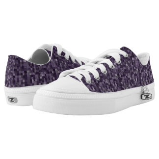 Shades Of Eggplant Low-Top Sneakers