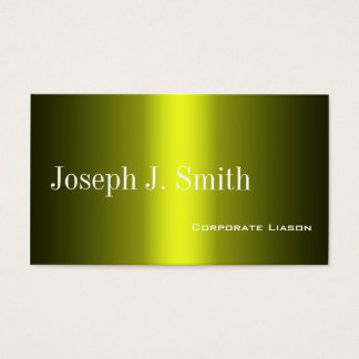 Shades of Gold Standard Business Cards