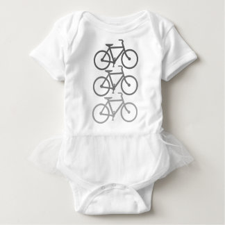 Shades of Gray Bikes Baby Bodysuit