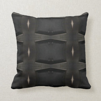 Shades Of Gray Classic Charcoal Pattern Throw Pillow