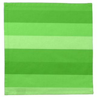 SHADES OF GREEN cloth napkin