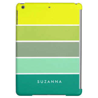 Shades of Green Color Palette 001 Case For iPad Air