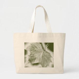 shades of green large tote bag