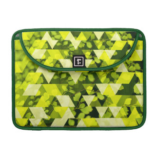 Shades of Green Leaf Sleeve For MacBook Pro