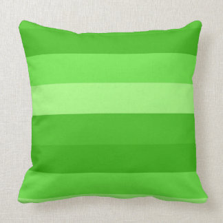 SHADES OF GREEN pillow