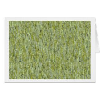 Shades of Greenery Card