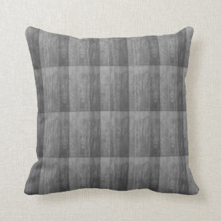 Shades of Grey Ombre Striped Throw Pillow