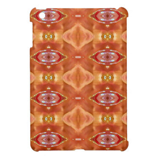 Shades Of Orange Peach  Modern Festive Design iPad Mini Case