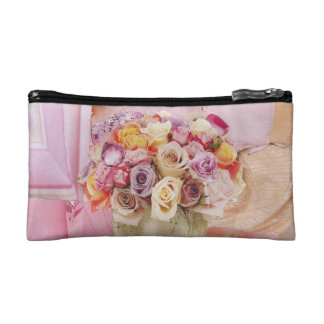 Shades of Pink Cosmetics Bags