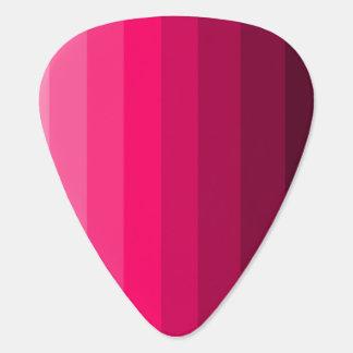 Shades of Pink Guitar Picks