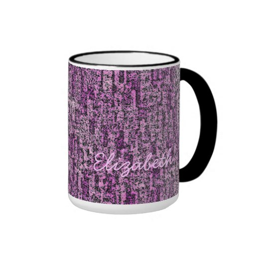 Shades of Pink Texture Mugs