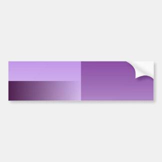 shades of purple bumper stecker bumper sticker