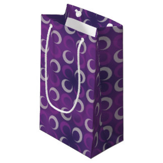 Shades of Purple Moons Small Gift Bag