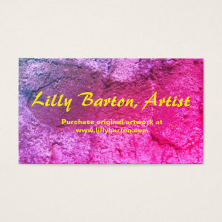 Shades of Purple Textural Business Cards