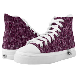 Shades Of Raspberry High Tops