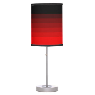 Shades of Red Desk Lamps