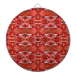 Shades Of Red Modern Festive Design Dart Boards