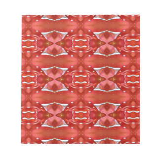 Shades Of Red Modern Festive Design Notepad