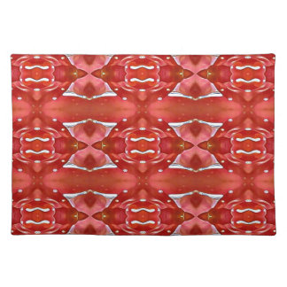Shades Of Red Modern Festive Design Placemat
