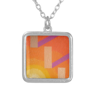 Shades of the Passed one Silver Plated Necklace