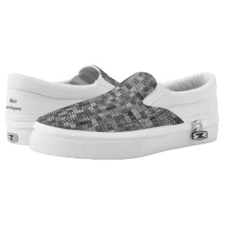 Shades Of Trolley Gray Slip-On Sneakers