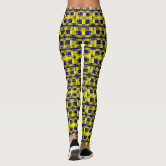 Shades-of Yellow-Blue Model#1-A Modern Leggings