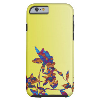 Shades of Yellow Pretty Flower Iphone Case