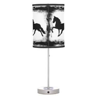 Shadow Casting Table Lamp