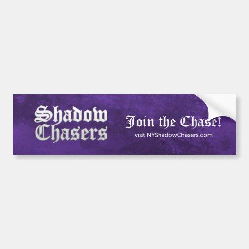 Shadow Chasers Purple Bumper Sticker