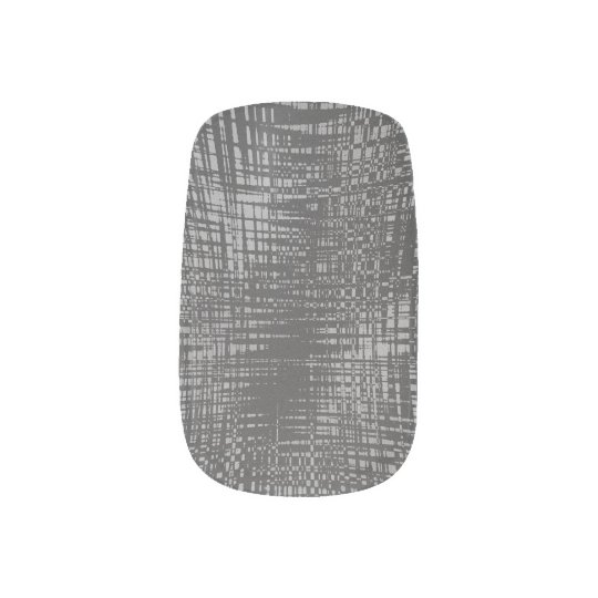 Shadow City Minx Nail Art