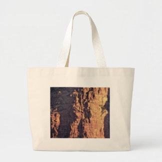 shadow cliff texture large tote bag