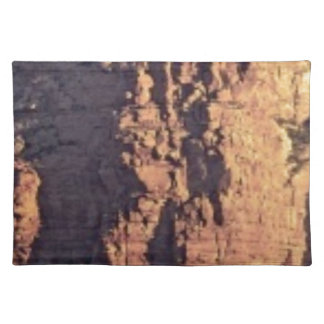 shadow cliff texture placemat