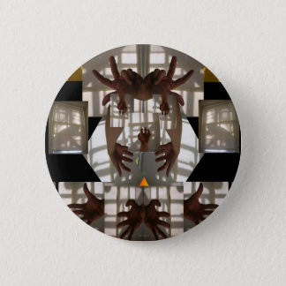 Shadow clown 2 inch round button