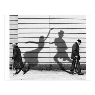 Shadow Dance Postcard