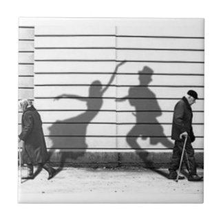 Shadow Dance Ceramic Tile