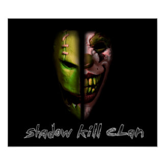 Shadow Kill Clan Mask Poster